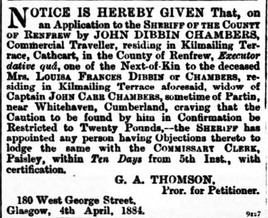 Paisley & Renfrewshire Gazette - Saturday 05 April 1884.jpg